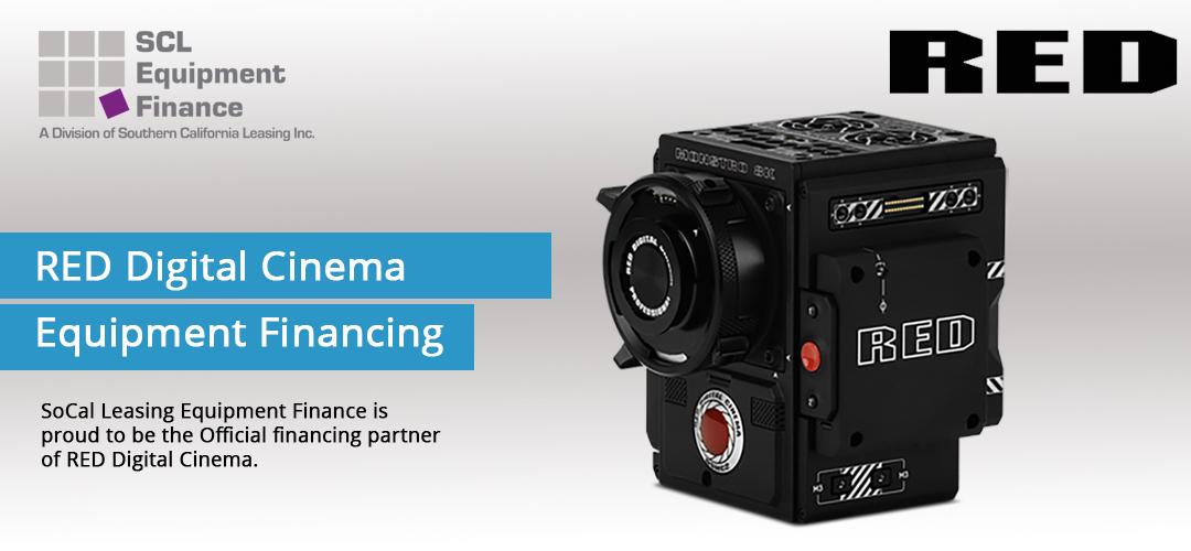 Red Digital Cinema Financing Scl Equipment Finance